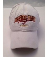 Master Bait & Tackle White Cap Hat Vintage Trucker One Size Snap Back  - $24.18