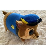Ty Paw Patrol CHASE Blue Brown Beanie Boo Small Stuffed Animal Toy - $8.33
