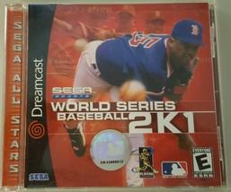 N) World Series Baseball 2K1 (Sega Dreamcast, 2000) Video Game - $4.94