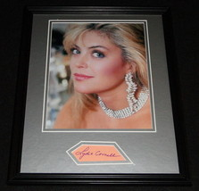 Lydia Cornell Signed Framed 11x14 Photo Display Too Close For Comfort B - $60.41