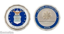 "AIR FORCE MAJOR 1.75"" MILITARY CHALLENGE COIN - $16.24"
