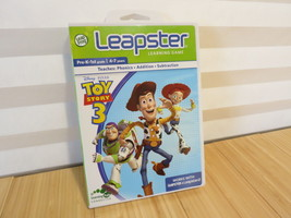 Leapster Disney Pixar Toy Story 3 Leap Frog works w/ Leapster & Leapster 2 - €7,66 EUR