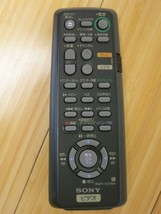 Original Sony RMT-V219A Remote for DVD Japanese Labels & Text - $18.52