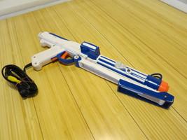 Star Wars Clone Wars Laser White Blue Gun TV Game  2008 Hasbro Plug and ... - $23.12