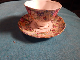 Royal Albert Vintage cup and saucer Chintz Like bone china England Free ... - $44.99
