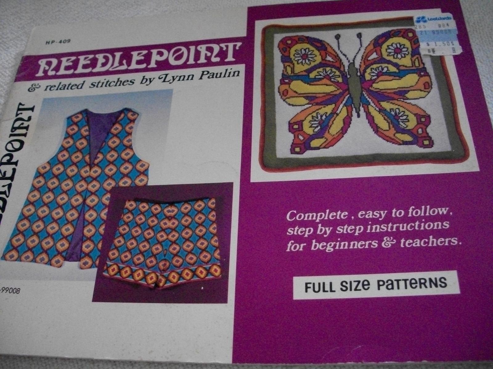 Needlepoint & Related Stitches - $5.00