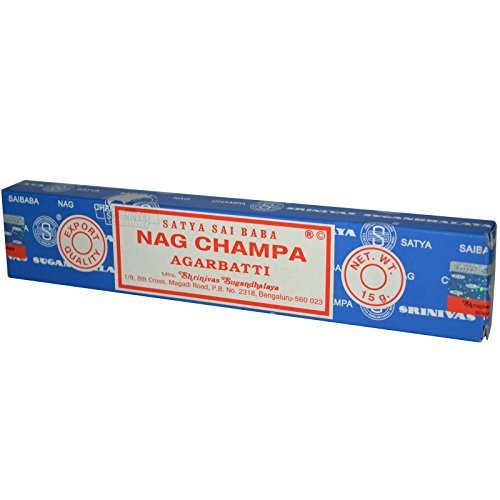 REAL SIMPLE...15 GR BOX OF NAG CHAMPA STICK INCENSE!!