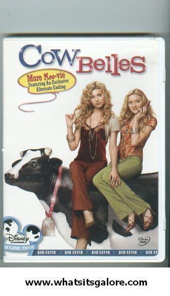 5 Disney DVD PRINCESS DIARIES 2+COW BELLES+8 Below+HERBIE LOADED+Cheetah Girls