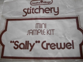 Stichery Sally Doll Crewel Kit - $6.00