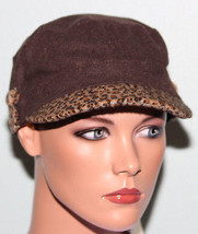 NWT Collection Eighteen Brown Conductor Modboy Newsboy Ladies Hat - ₨367.98 INR