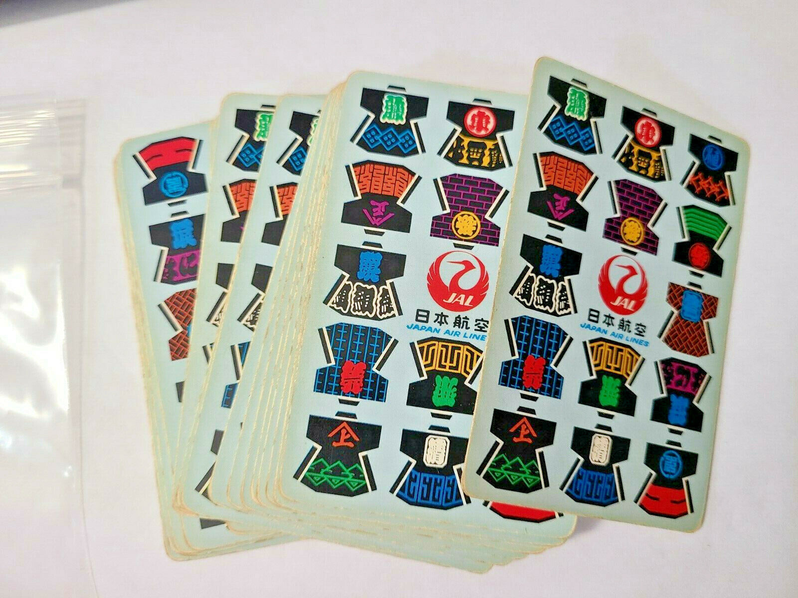 Japan Air Lines JAL Deck of Playing Cards   (#43)