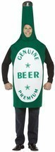 Beer Costume Adult Alcohol Halloween Party Unique Cheap GC302 - $44.99