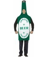 Beer Costume Adult Alcohol Halloween Party Unique Cheap GC302 - $58.20 CAD