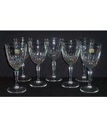 "8 Vintage Cristal d'Arques Durand DIAMANT Glass Crystal 6 34"" Wine/Cockt... - $32.00"