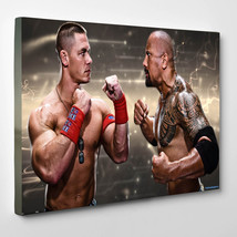 "John Cena And The Rock  12""x16"" (30cm/40cm) Canvas Print - $25.00"
