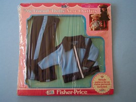 1984 FISHER PRICE MY FRIEND 224 JOGGING OUTFIT FASHION MOC Orig Cello - $18.81