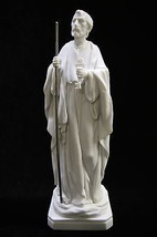 Saint Peter Holding the Key to Heaven Catholic Statue Sculpture Made in Italy - $59.95