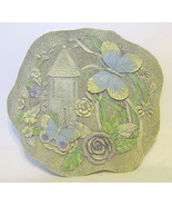 Butterfly House Stepping Stone Wall Plaque - $40.09