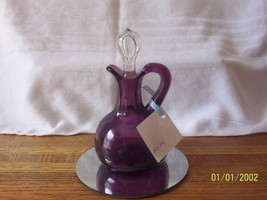 Beautiful Purple Cruet - $24.75