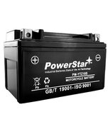 POWERSTAR YTZ10S 12V 8.6AH Replacement Battery for HONDA CBR600RR 03-04, 05-06 - - $41.09