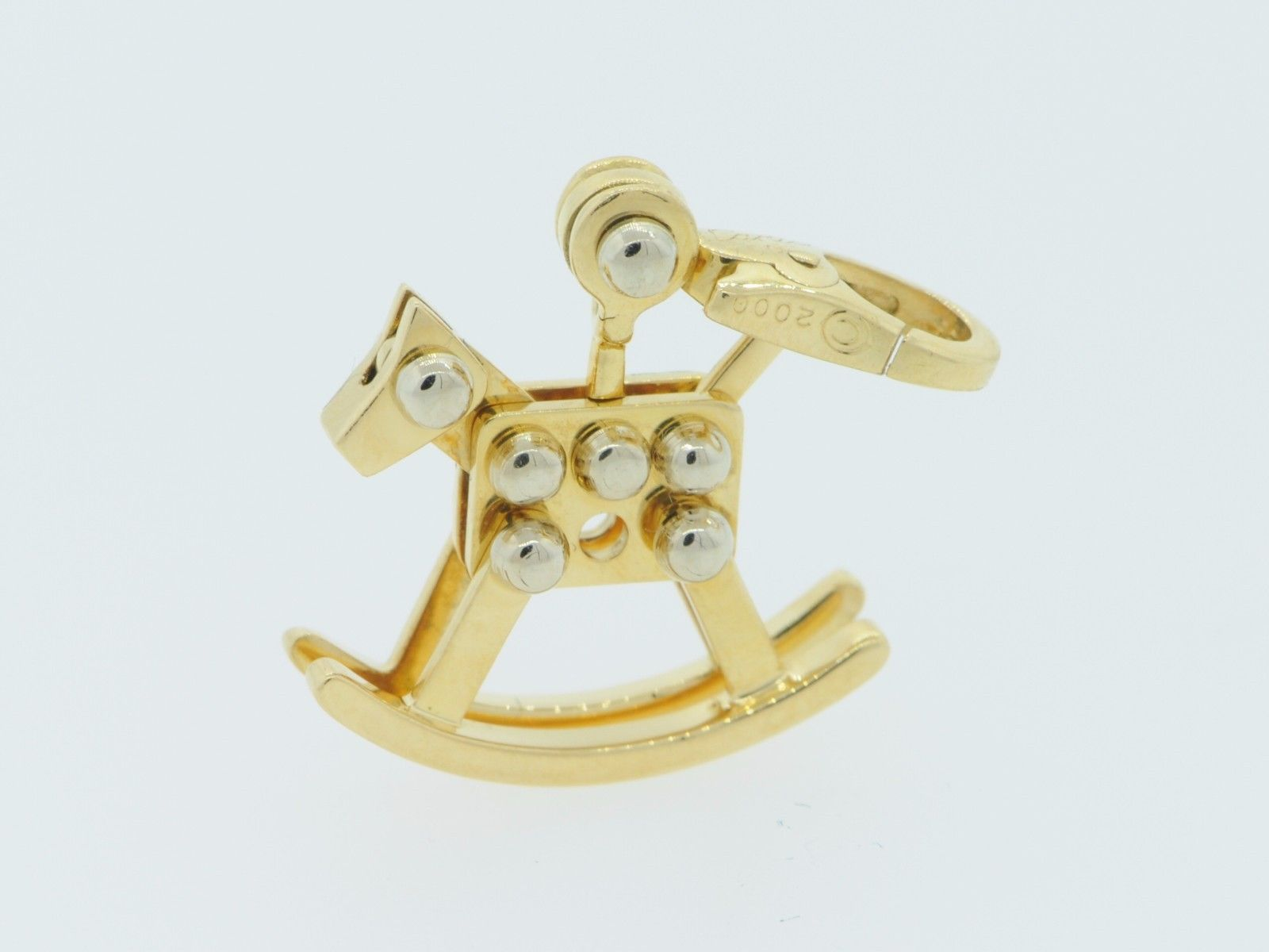 Cartier (c) 18K Yellow Gold Rocking Horse Toy Charm