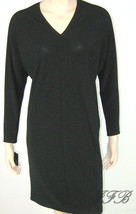 Francisco Costa for Calvin Klein Black Jersey Knit Dress Size 6 $140 New... - $34.64