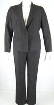Evan Picone Black Multi Jacket Blazer Pant Suit... - $62.36