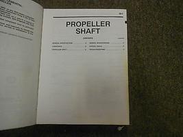 2000 MITSUBISHI Montero Shop Service Repair Manual Set FACTORY BOOKS OEM 00 x image 8