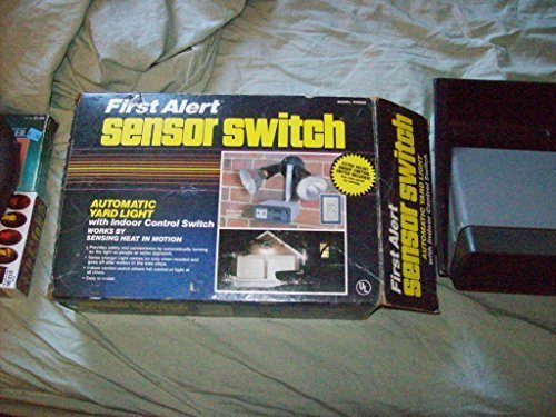 First Alert Sensor Switch Automatic Yard Light With Indoor Control Switch