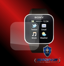 Sony Smartwatch 1 - 2 X Self Healing Screen Protector Full Cover Of The Glass - $8.99