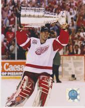Dominik Hasek Stanley Cup Detroit Red Wings Vintage 8X10 Color Hockey Photo - $4.99