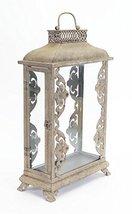 """Set of 2 Rectangle Venetian-Style Candle Holder Lanterns 21"""" - $166.02"""