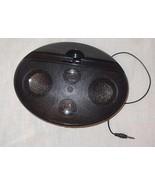 Mini Dock Booster Speaker Oval Black - $9.99