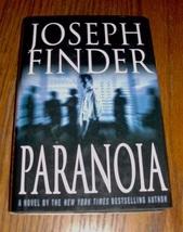 Paranoia...Author: Joseph Finder (used hardcover) - $7.00