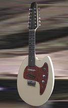 Hammerton Mandotar 12 string mandolin Electric Cream with hardshell case - $795.00