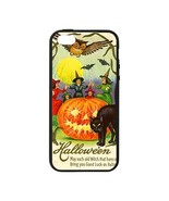 Halloween Black Cat Pumpkin Witches Owl iPhone 5/5S Soft Edge Hardshell ... - $16.99