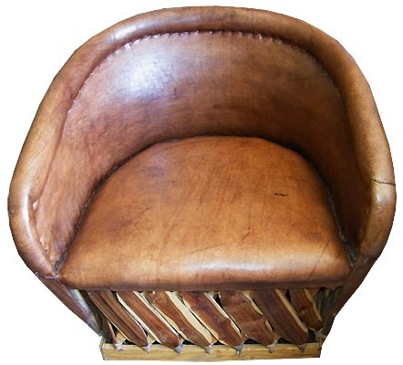 "Primary image for Mexican Equipal Armchair ""Santa Monica"""