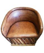 """Mexican Equipal Armchair """"Santa Monica"""" - $550.00"""