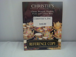 CHRISTIE'S AUCTION CATALOG 1997 CHINTZ, BESWICK, DOULTON, POOLE, CARLTON... - $16.40