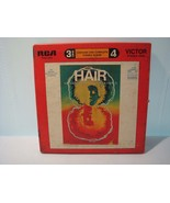 "VICTOR RCA STEREO TAPE,1968 ""HAIR"" ORIGINAL BROADWAY CAST RECORDING REEL... - £37.86 GBP"