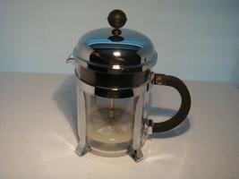 BODUM COFFEE PRESS 16 OUNCES MADE IN SWITZERLAND SS CHROME - £12.63 GBP