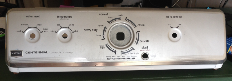 Maytag Centennial Washer Control Panel And 19 Similar Items
