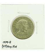 1979-D Susan B. Anthony  Dollar RATING: (VF) Very Fine (N2-4390-2) - $2.00