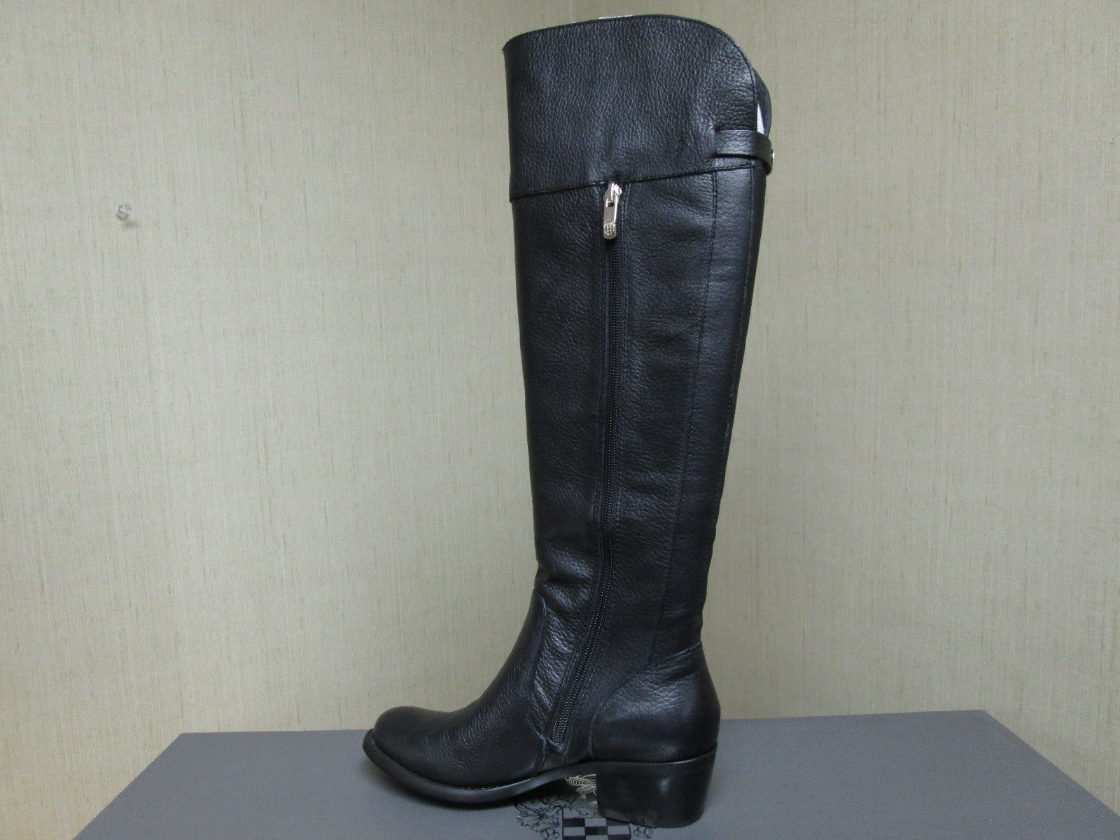 new vince camuto bocca boots equesterian black knee