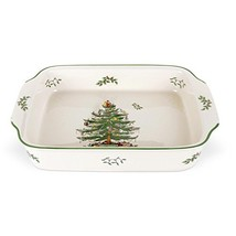 Spode Christmas Tree Rectangular Handled Dish - $109.42