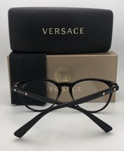 6c102a8ad5b New VERSACE Eyeglasses MOD. 3232 GB1 52-20 140 Black   Gold Cat Eye Frames  added to cart. Only one available in stock