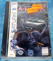 Sega Saturn SYSTEM GAME Amok A M O K Brand New Factory Sealed damaged CASE - $27.94