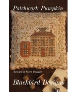 Patchwork Pumpkin Reward Of Merit cross stitch chart Blackbird Designs - $7.20