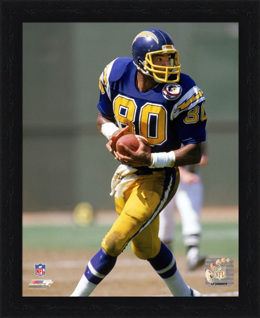 San Diego Chargers Home Schedule: Framed Kellen Winslow San Diego Chargers Photo AAHV129