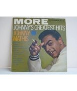 More Johnny's Greatest Hits [Vinyl] Johnny Mathis - $59.95